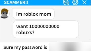 TROLLING ROBLOX SCAMMER! #10