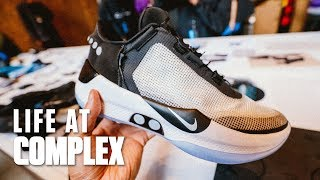 UPDATE: More Info On The Nike Adapt BB Sneaker | #LIFEATCOMPLEX