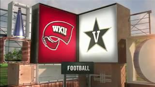 Vanderbilt vs Western Kentucky NCAA Football Highlights 2017