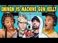 Teens React to Eminem/Machine Gun Kelly ...