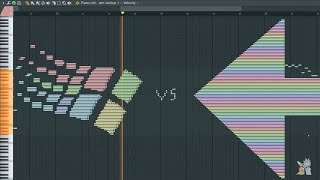 Win95 vs Rainbow - MIDI Art