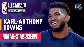 Karl-Anthony Towns All-Star Reserve | Best Highlights 2017-2018