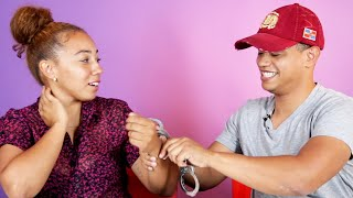 Brother & Sister Get Handcuffed For 24 hours