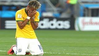 Neymar bricht in Tränen aus !