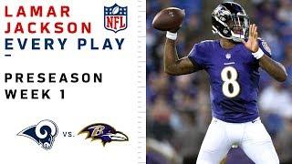Every Lamar Jackson Throw & Run vs. Rams
