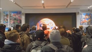 Smash Bros for Switch Reaction at Nintendo NY
