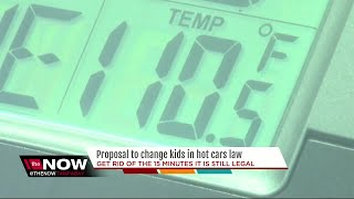 Leaving your kid in the car for any amount of time could soon be a crime in Florida