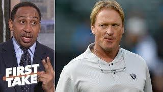Jon Gruden, Raiders are scapegoating Reggie McKenzie - Stephen A. | First Take
