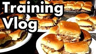 Competitive Eating Training Vlog (#1 - Pulled Pork -n- Tacos)