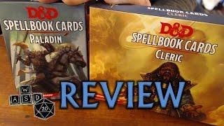 D&D 5E Spellbook Cards Review