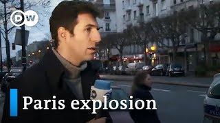 TV reporter live on air during Paris explosion | Journal
