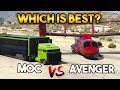 GTA 5 ONLINE : AVENGER VS MOC ( WHICH IS...mp3