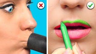 7 Funny and Useful Beauty Hacks