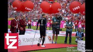FC Bayern: Manuel Neuer noch länger an Krücken?