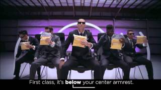 Virgin America Safety Video #VXsafetydance