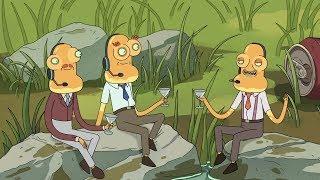 Rick and Morty Season 3 - All After Credits Scenes (HD)