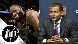 Cavaliers GM Koby Altman making it hard for LeBron James to leave? | The Jump | ESPN