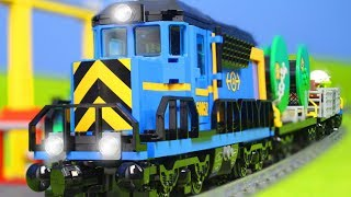 LEGO ZUG Kinderfilm: EISENBAHN, ZÜGE, KRAN & LASTWAGEN für KINDER | Neue LEGO Episode deutsch