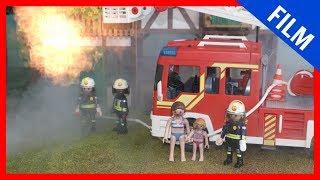 Playmobil Film deutsch - DIE FEUERWEHR KOMMT - PlaymoGeschichten - Kinderserie