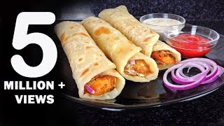 Chicken Paratha Roll Recipe - Ramadan Recipes by (HUMA IN THE KITCHEN)