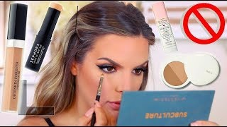 TRYING THESE PRODUCTS ONE LAST TIME! WHAT I KEPT & WHAT I TOSSED | Casey Holmes