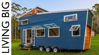 Stunning Tiny House With Amazing Pop Up Roof