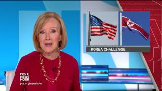News Wrap: Trump calls North Korea situation