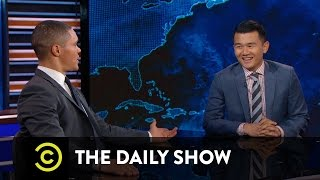 Between the Scenes - The Truth About Ronny Chieng's Accent: The Daily Show