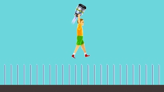 99% IMPOSSIBLE KID CHALLENGES! (Happy Wheels #72)