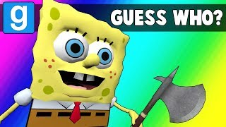 Gmod Guess Who Funny Moments - Krusty Krab is Unstable (Garry