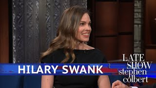 Hilary Swank And Stephen Have An