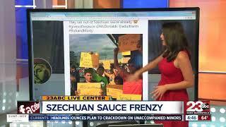 McDonalds Szechuan Sauce Frenzy