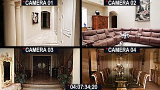 GHOST ACTIVITY CAUGHT ON CAMERA! FREAKED OUT!