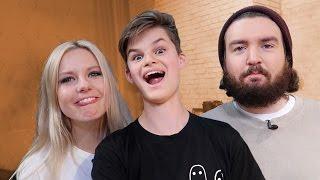 mit KELLY und STURMWAFFEL bei GUTEN MORGEN INTERNET!| Oskar