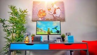 DIY Nintendo Switch Gaming Desk + Setup!
