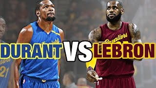 LeBron James VS Kevin Durant Epic Christmas Day Duel      12.25.16