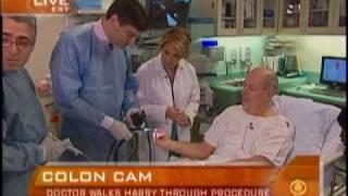 First Ever Live TV Colonoscopy