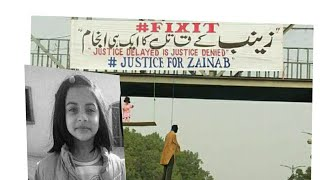 Pakistani News Channel live raise voice for Zanib murder incident against Government of Pakistan