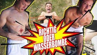 RICHTIG oder WASSERBOMBE | inscope21
