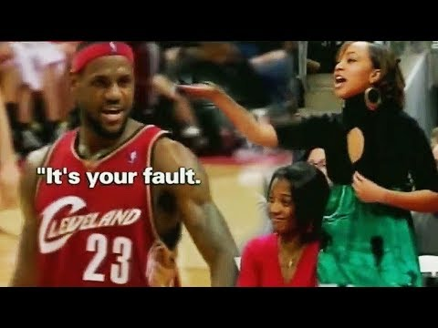 2f81c5fb4144 Title  LeBron James Shocks Girl and Leaves Her Speechless with Amazing Shot!