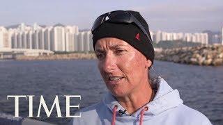Volvo Ocean Race: Dee Caffari On Global Warming