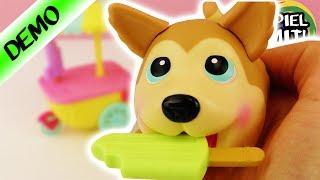 Chubby Puppies and friends deutsch   Süßer Husky mit Eiswagen   Elektischer Hund zum Spielen/Sammeln