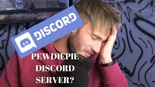 What happens when you join pewdiepie discord server (earphone warning)
