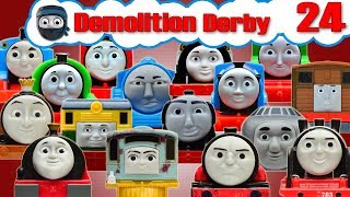 Sodor Demolition Derby 24   Thomas and Friends Trackmaster   Last Engine Standing