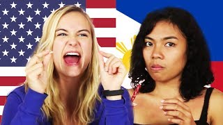 Filipinos & Americans Swap Snacks