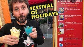 FESTIVAL OF HOLIDAYS DRINKS! Part 3 DCA 2017 Festival of Holidays