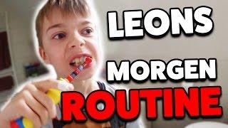 LEONS MORGENROUTINE für die Schule 😴  mit Lulu & Leon - Family and Fun