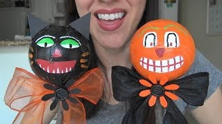 ASMR: Making Vintage-Style Halloween Noise Makers   Halloween Crafts   Holiday Crafts