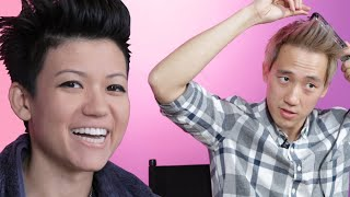 Best Friends Swap Hair Routines • Jen And Steven