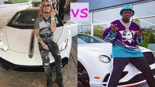 Lil pump cars vs Lil yachty cars (2018)